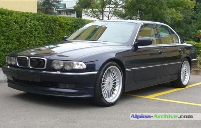 AlpinaArchive Car Profile BMW Alpina B - Bmw alpina e38