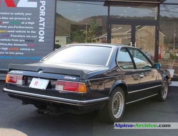 Alpina Archive Car Profile Bmw Alpina B9 3 5 Coup 233 1 379