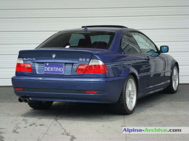 Alpina Archive Car Profile Bmw Alpina B3 S Coupe 039