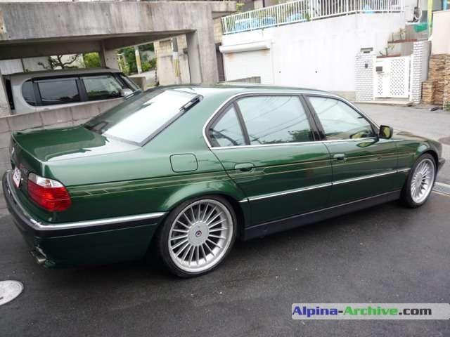 Alpina-Archive   Car Profile: BMW Alpina B12 5.7L #029