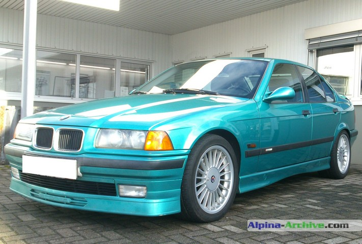 Alpina Archive Car Profile Bmw Alpina B3 3 2 005