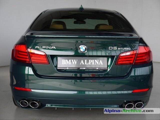 Alpina Archive Car Profile Bmw Alpina D5 Biturbo 045