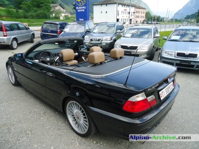Alpina Archive Car Profile Bmw Alpina B3 3 3 Cabrio 230