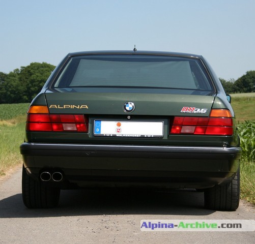 Alpina Archive Car Profile Bmw Alpina B11 3 5 158