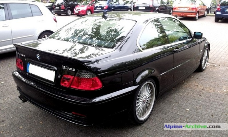 Alpina Archive Car Profile Bmw Alpina B3 3 3 Coupe 199