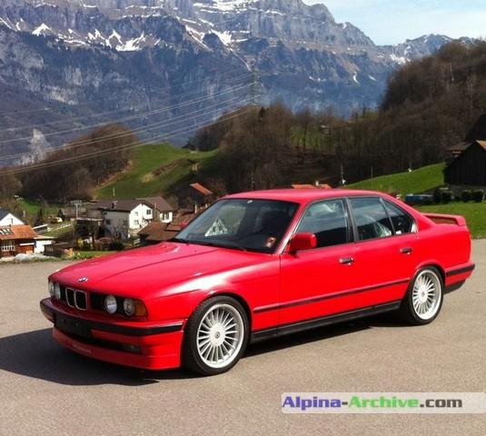 Alpina Archive Car Profile Bmw Alpina B10 3 5 1 314