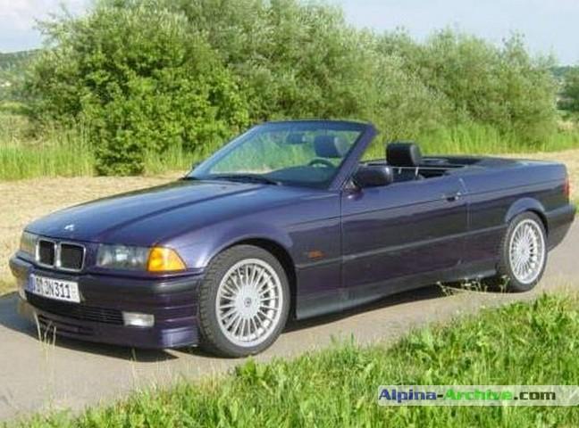 Alpina Archive Car Profile Bmw Alpina B3 3 0 Cabrio 098