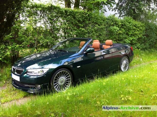 Alpina Archive Car Profile Bmw Alpina B3 S Biturbo Cabrio 337