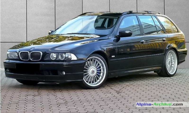 Alpina Archive Car Profile Bmw Alpina B10 V8 S Touring 004