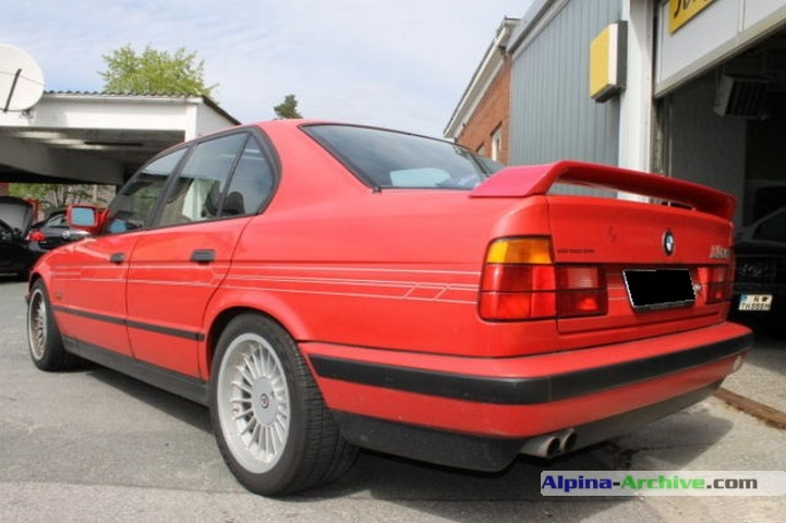 Alpina Archive Car Profile Bmw Alpina B10 3 5 1 544