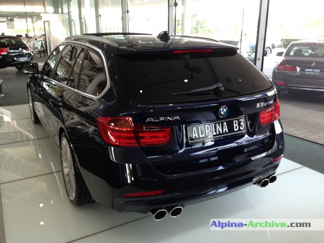 Alpina Archive Car Profile Bmw Alpina B3 Biturbo Touring 007