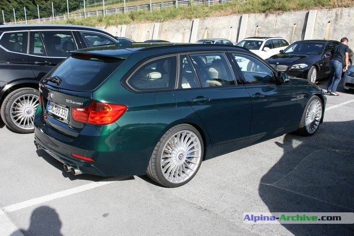 Alpina Archive Car Profile Bmw Alpina B3 Biturbo Touring 002