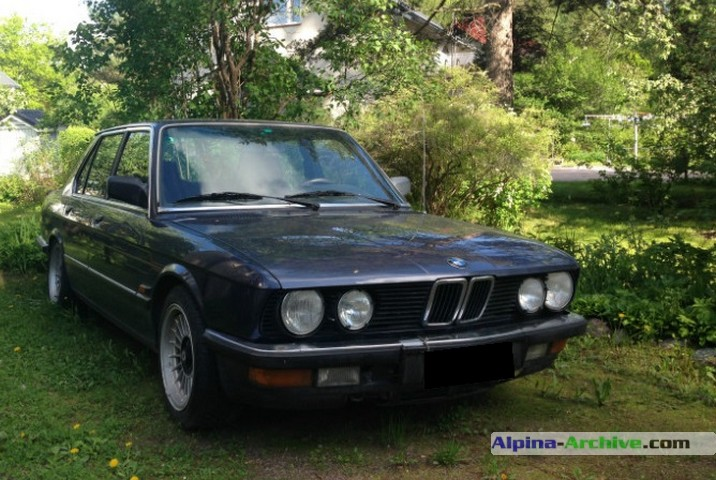 Alpina Archive Car Profile Bmw Alpina B9 3 5 543