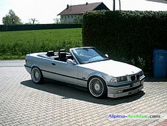 Alpina Archive Car Profile Bmw Alpina B8 4 6 Cabrio 003