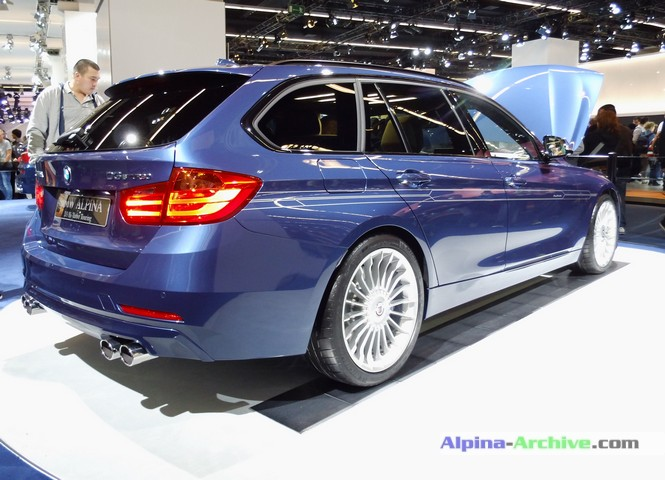 Alpina Archive Car Profile Bmw Alpina D3 Biturbo