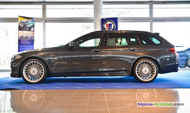 Alpina Archive Car Profile Bmw Alpina D5 Biturbo Touring 144