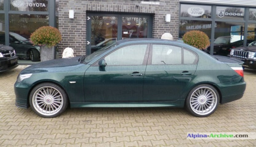 Alpina Archive Car Profile Bmw Alpina B5 S 486