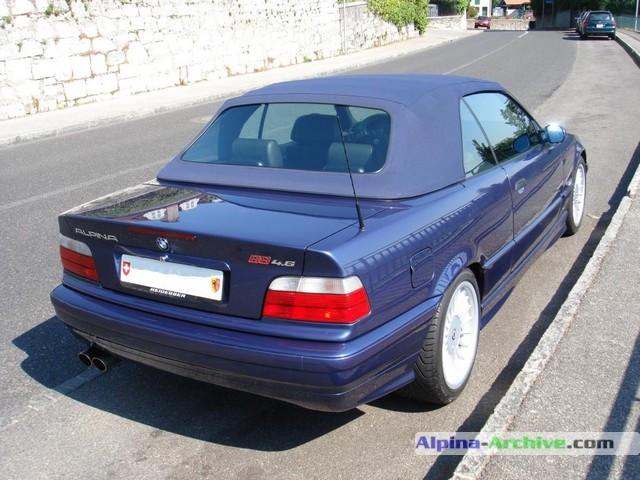 AlpinaArchive Car Profile BMW Alpina B Cabrio - Bmw alpina b8