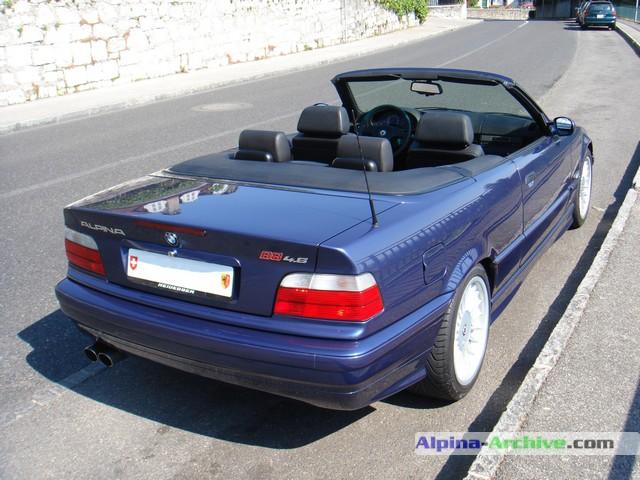 Alpina Archive Car Profile Bmw Alpina B8 4 6 Cabrio 012