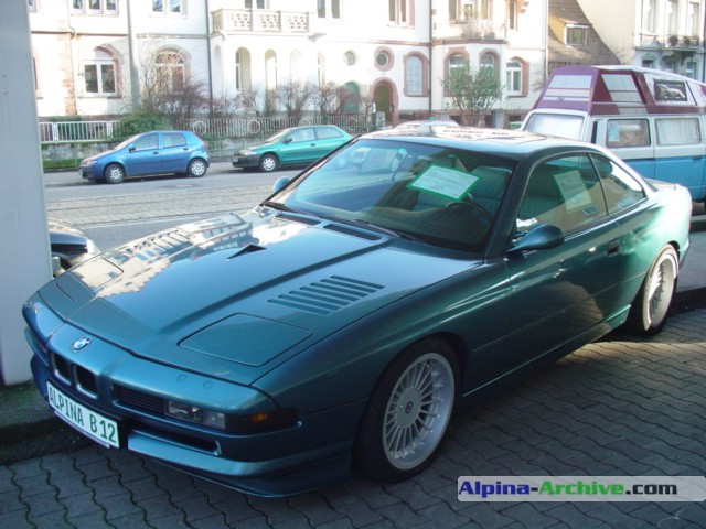 Alpina Archive Car Profile Bmw Alpina B12 5 7 Coupe 014