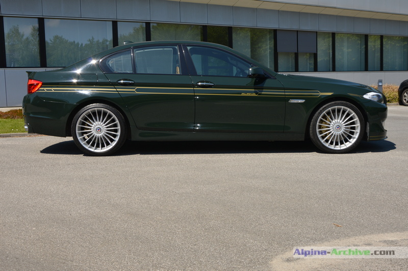 Alpina Archive Car Profile Bmw Alpina B5 Biturbo 007