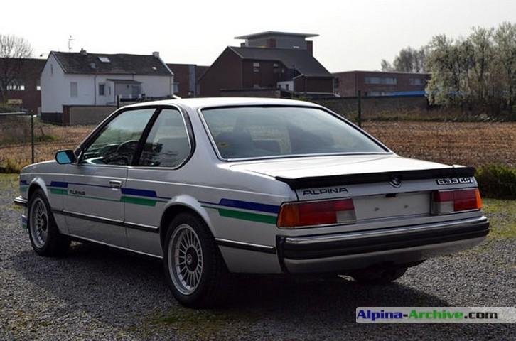 Alpina Archive Car Profile Bmw Alpina 633csi B8 1978