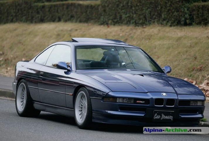 Bmw Alpina B12. BMW assembly, April 1996