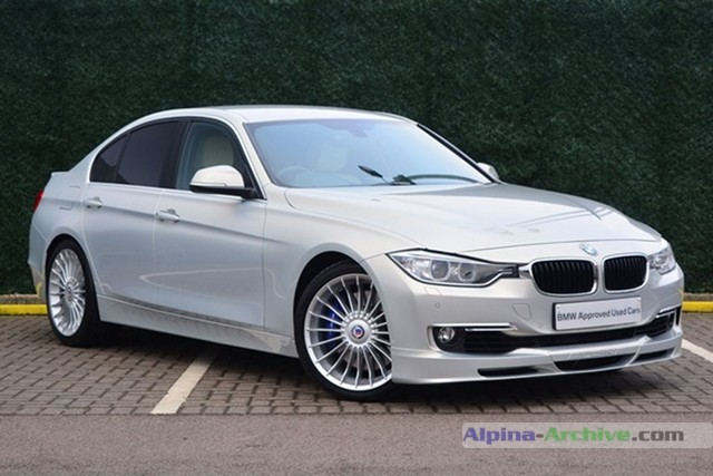 Alpina Archive Car Profile Bmw Alpina D3 Biturbo 112