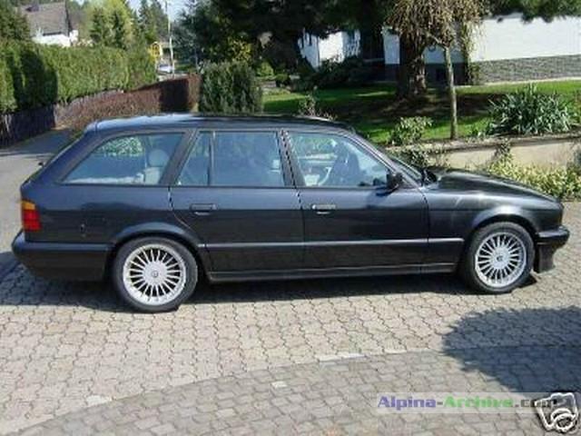 Alpina Archive Car Profile Bmw Alpina B10 3 0 Allrad