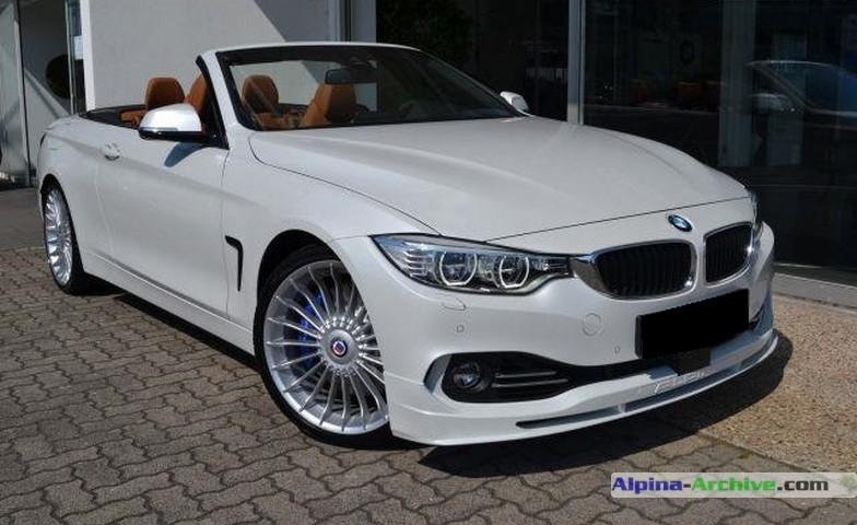 Alpina Archive Car Profile Bmw Alpina B4 Biturbo Cabrio