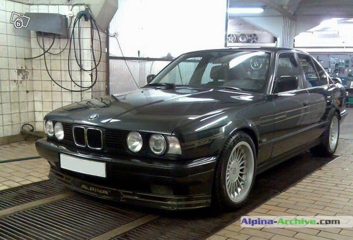 Alpina Archive Car Profile Bmw Alpina B10 3 5 1 368