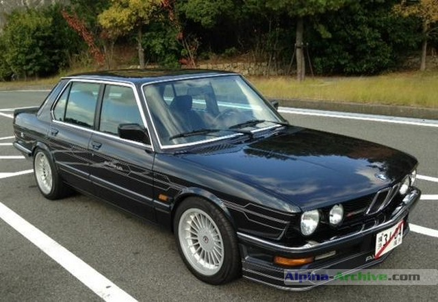 Alpina Archive Car Profile Bmw Alpina B7 Turbo 1 253