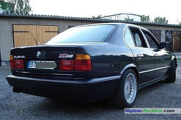 Alpina Archive Car Profile Bmw Alpina B10 3 5 1 374