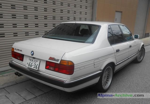Alpina Archive Car Profile Bmw Alpina B11 3 5 315