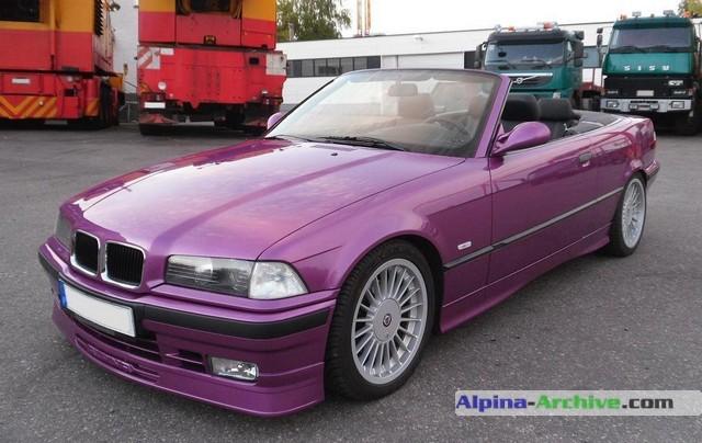 Alpina Archive Car Profile Bmw Alpina B3 3 0 Cabrio 029