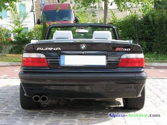 Alpina Archive Car Profile Bmw Alpina B3 3 0 Cabrio 115