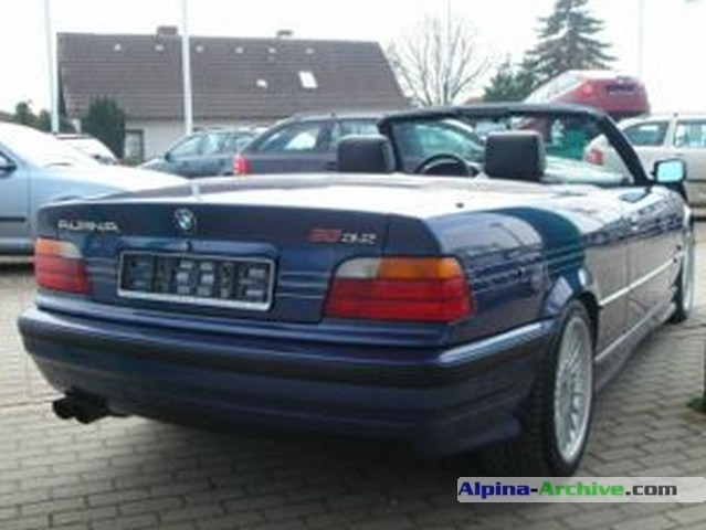 Alpina Archive Car Profile Bmw Alpina B3 3 2 Cabrio 006