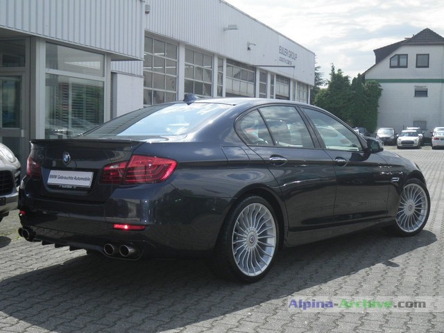 Alpina Archive Car Profile Bmw Alpina B5 Biturbo 316