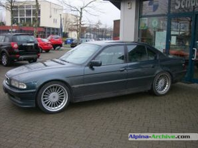 Alpina Archive Car Profile Bmw Alpina B12 5 7 134
