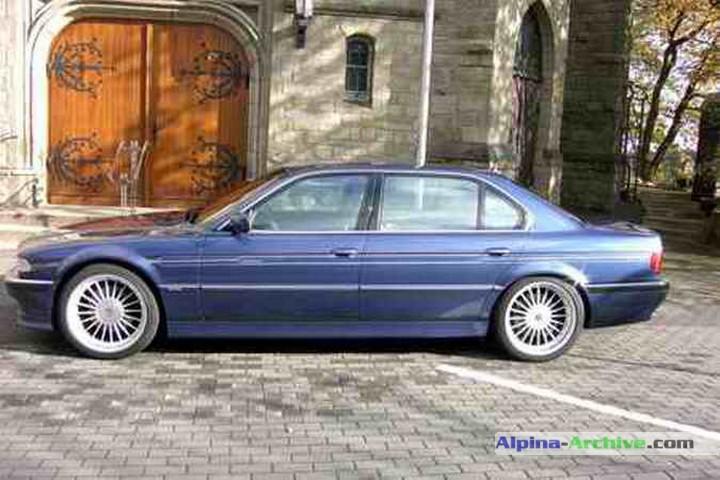Alpina Archive Fahrzeug Profil Bmw Alpina B12 6 0l 003