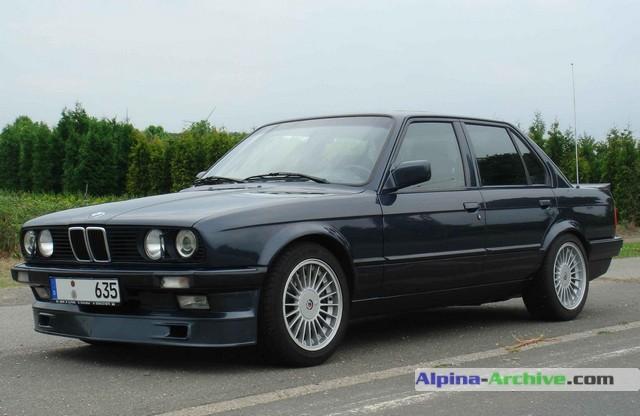 Alpina Archive Car Profile Bmw Alpina B6 3 5 165