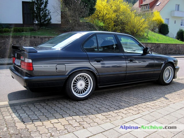 Alpina Archive Car Profile Bmw Alpina B10 Biturbo 016
