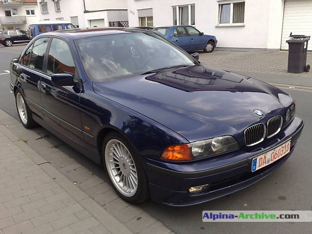 alpina archive car profile bmw alpina b10 v8 088