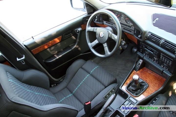 Alpina Archive Fahrzeug Profil Bmw Alpina B10 Biturbo 061