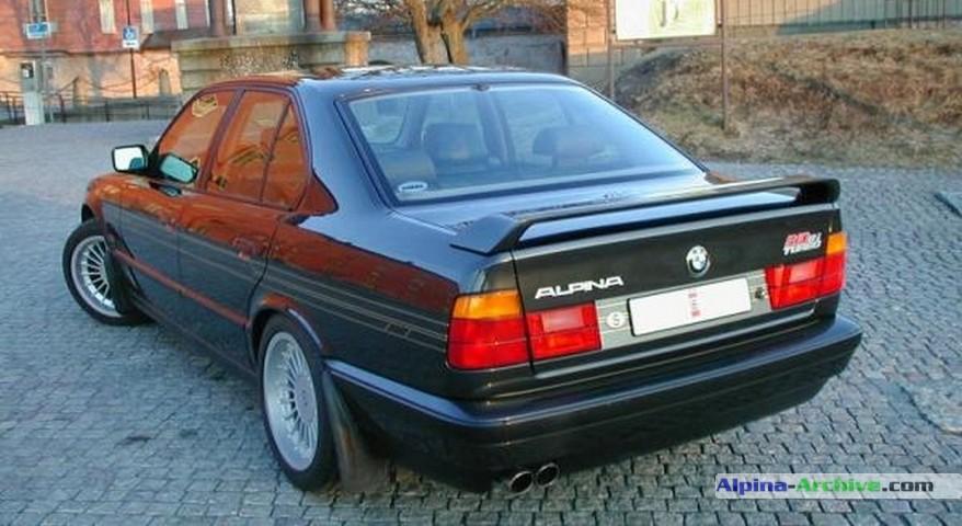 alpina archive car profile bmw alpina b10 biturbo 091. Black Bedroom Furniture Sets. Home Design Ideas