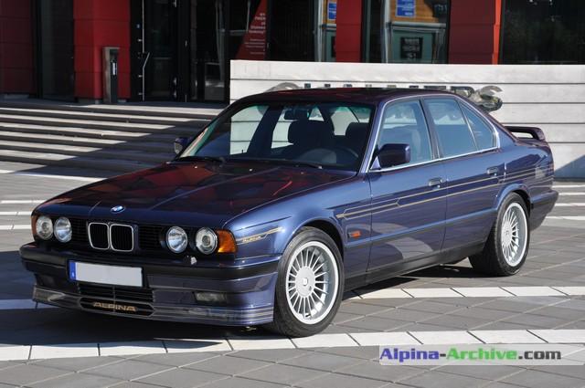 Alpina Archive Car Profile Bmw Alpina B10 Biturbo 126