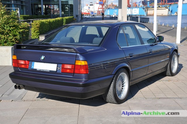 Alpina Archive Car Profile Bmw Alpina B10 Biturbo 126