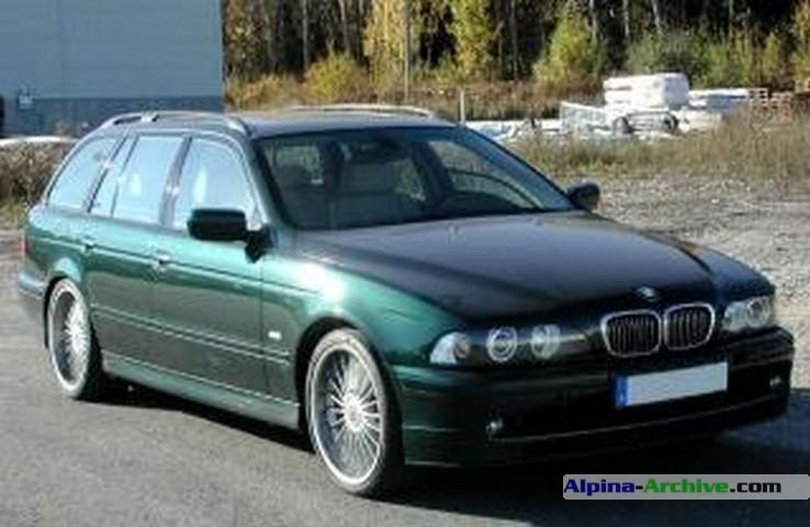Alpina Archive Fahrzeug Profil Bmw Alpina B10 V8