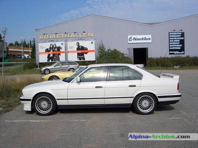 alpina archive car profile bmw alpina b10 biturbo 355. Black Bedroom Furniture Sets. Home Design Ideas