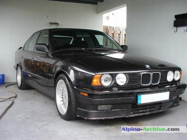 Alpina Archive Car Profile Bmw Alpina B10 Biturbo 384